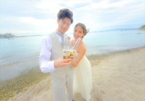 HAYAMA BEACH wedding