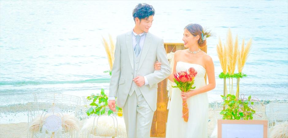 葉山結婚式 葉山ビーチ挙式 ビーチウェディング